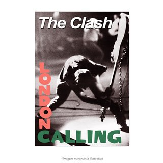 Poster The Clash - London Calling - QueroPosters.com