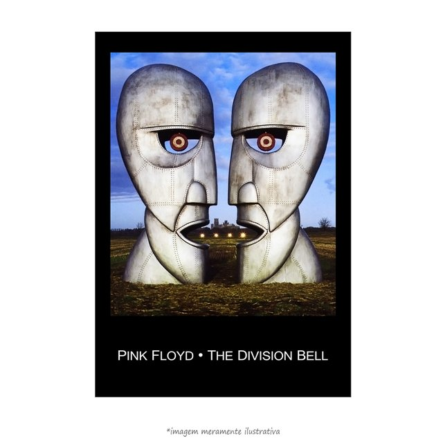 Poster The Division Bell - Pink Floyd - QueroPosters.com