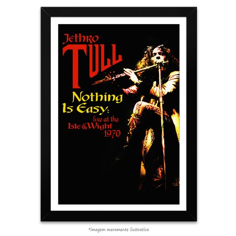 Poster Jethro Tull - Nothing is Easy