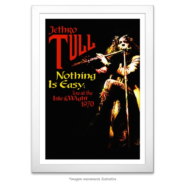 Poster Jethro Tull - Nothing is Easy - comprar online