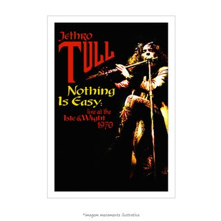 Poster Jethro Tull - Nothing is Easy - QueroPosters.com
