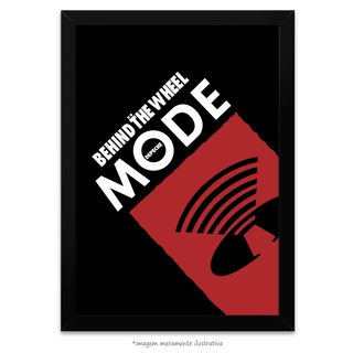 Poster Depeche Mode - Behind The Wheel