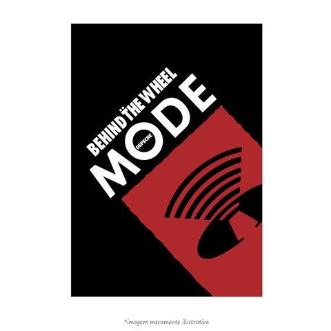 Poster Depeche Mode - Behind The Wheel - QueroPosters.com