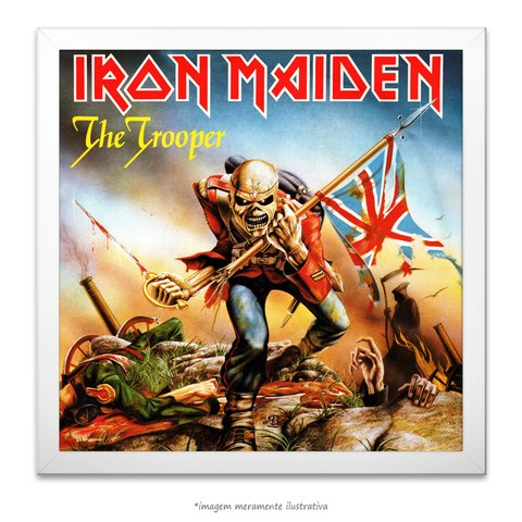 Poster Iron Maiden - The Trooper - comprar online