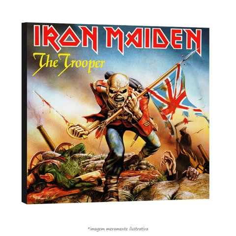 Poster Iron Maiden - The Trooper na internet