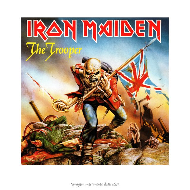Poster Iron Maiden - The Trooper - QueroPosters.com