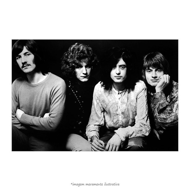 Poster Led Zeppelin - QueroPosters.com