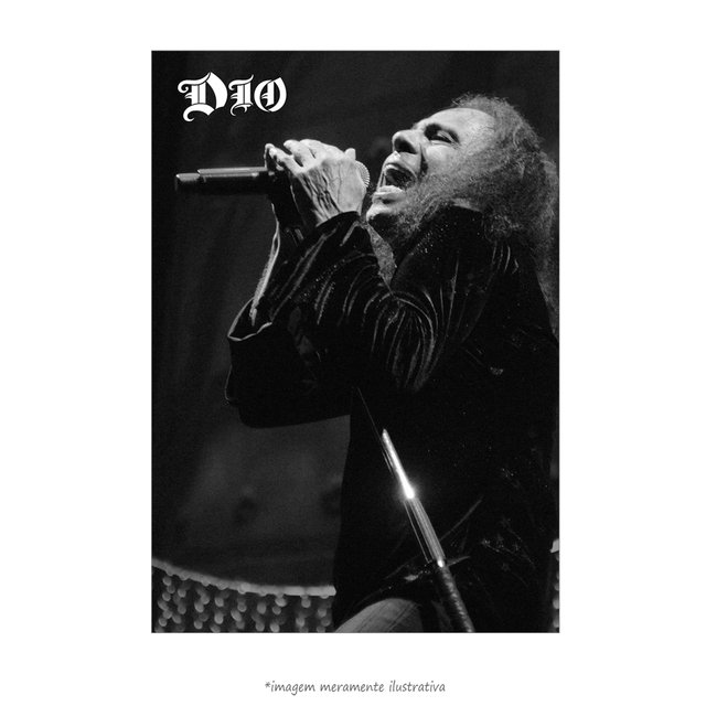 Poster Ronnie Dio - QueroPosters.com