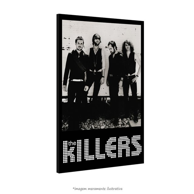 Poster The Killers na internet