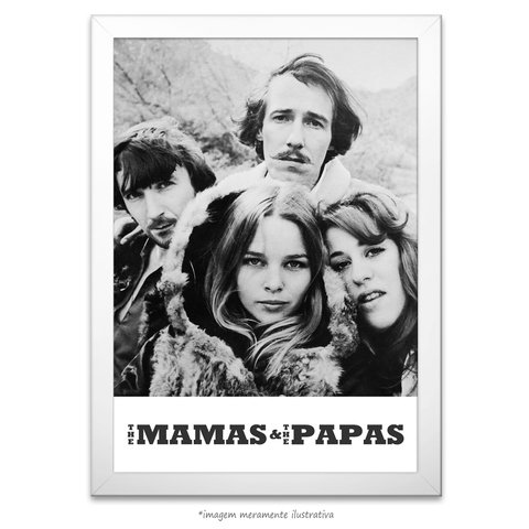 Poster The Mamas & The Papas na internet