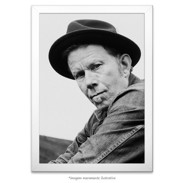 Poster Tom Waits na internet