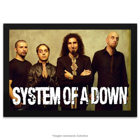 Poster System of a Down