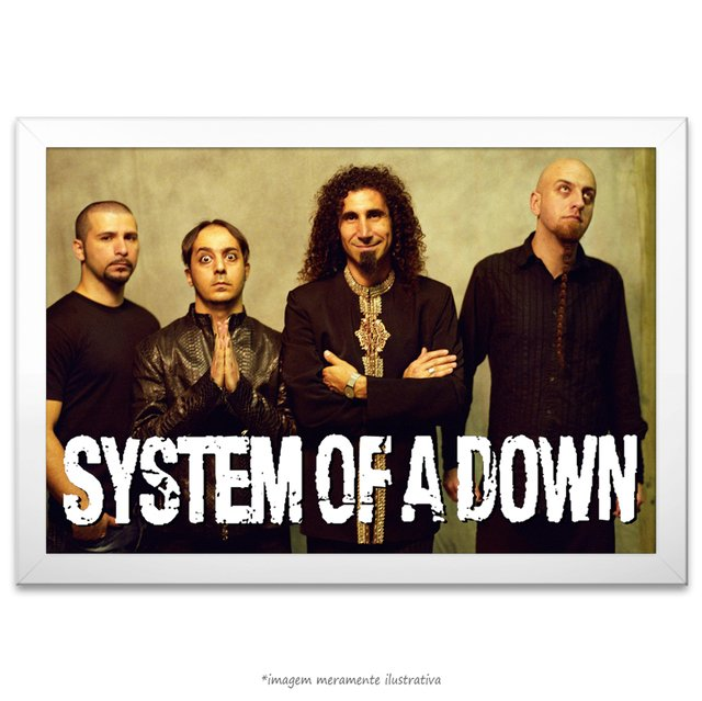 Poster System of a Down - comprar online