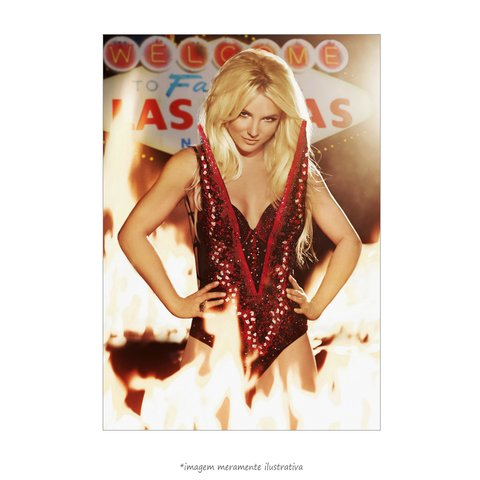 Poster Britney Spears - Piece of Me Las Vegas