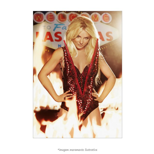 Poster Britney Spears - Piece of Me Las Vegas - QueroPosters.com