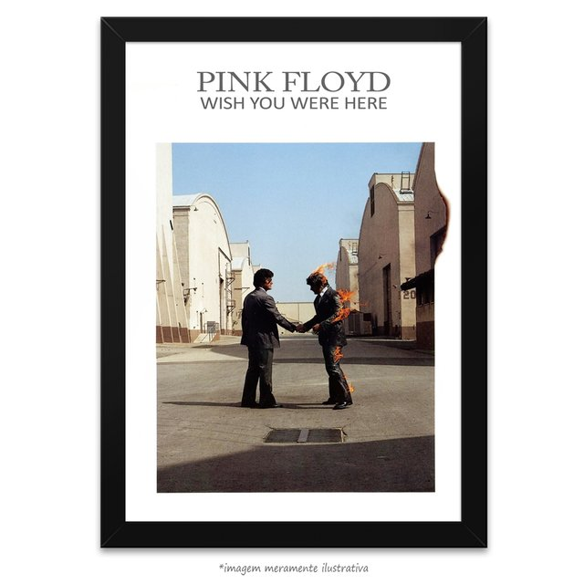 Poster Wish You Were Here - Pink Floyd