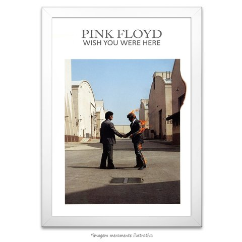 Poster Wish You Were Here - Pink Floyd - comprar online