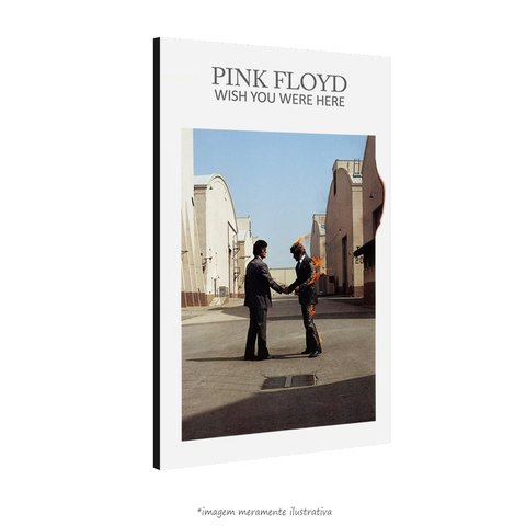 Poster Wish You Were Here - Pink Floyd na internet