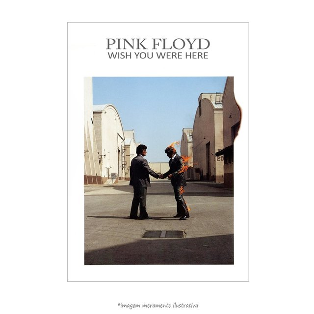 Poster Wish You Were Here - Pink Floyd - QueroPosters.com