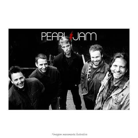 Poster Pearl Jam - QueroPosters.com