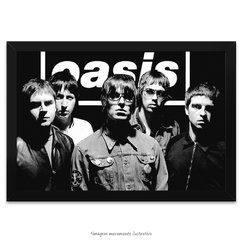Poster Oasis Band