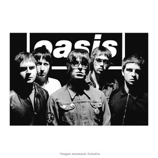 Poster Oasis Band - QueroPosters.com