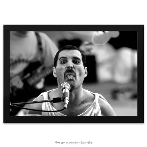 Poster Fred Mercury