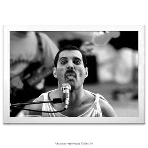 Poster Fred Mercury - comprar online