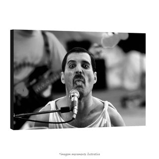 Poster Fred Mercury na internet