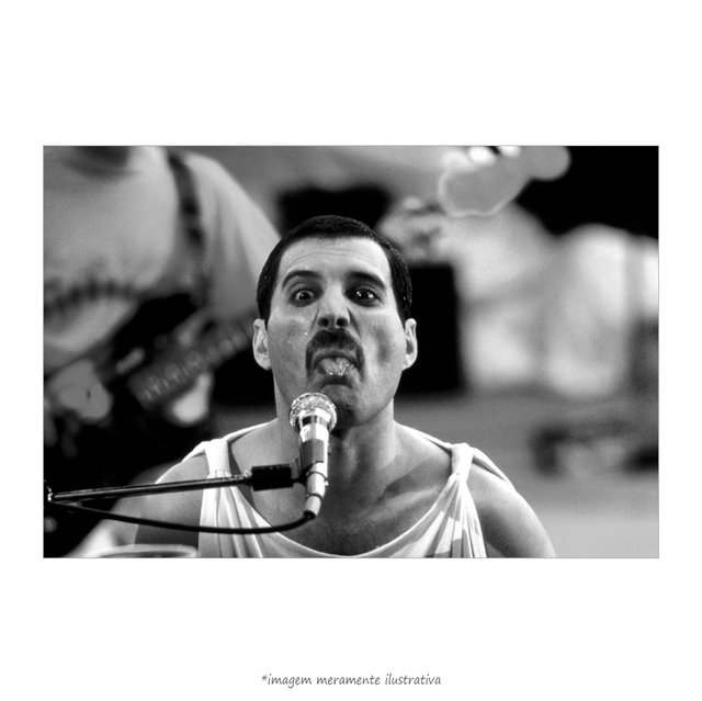 Poster Fred Mercury - QueroPosters.com