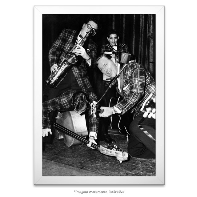 Poster Bill Haley's Saddlemen na internet