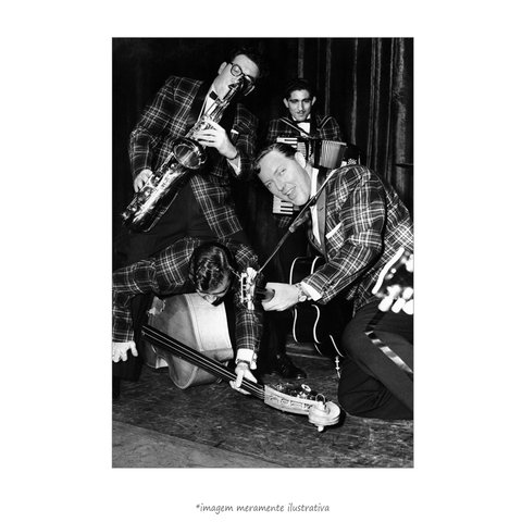 Poster Bill Haley's Saddlemen