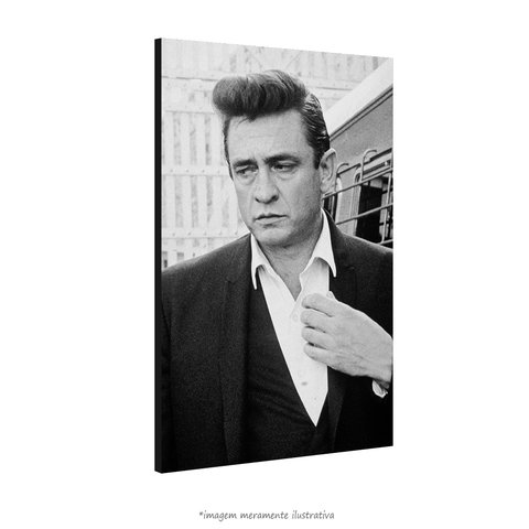 Poster Johnny Cash na internet