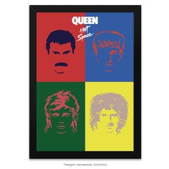 Poster Queen Hot Space
