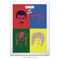 Poster Queen Hot Space - comprar online