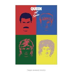 Poster Queen Hot Space - QueroPosters.com