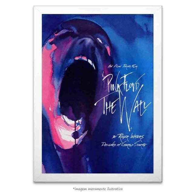 Poster Pink Floyd The Wall - comprar online