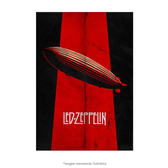 Poster Led Zeppelin - Mothership - QueroPosters.com