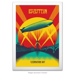 Poster Led Zeppelin - Celebration Day - comprar online
