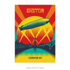 Poster Led Zeppelin - Celebration Day - QueroPosters.com