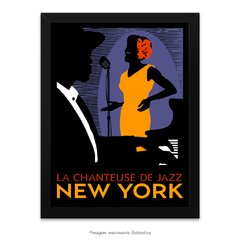 Poster A Cantora de Jazz de Nova Iorque - La Chanteuse De Jazz New York