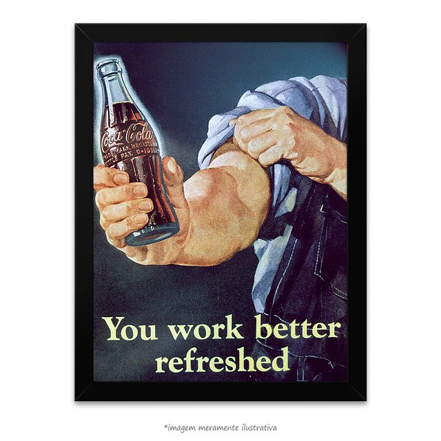 Poster You Work Better Refreshed