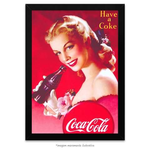 Poster Have a Coke