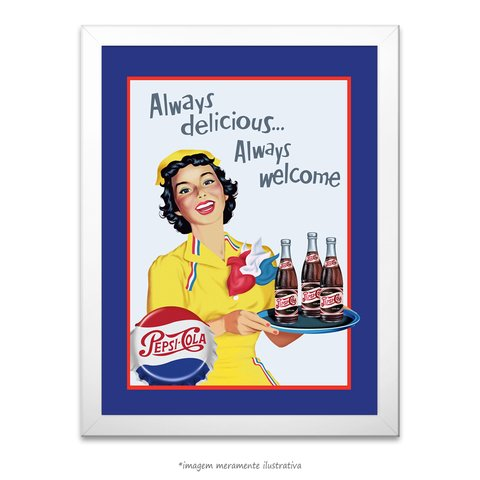Poster Always Delicious... - comprar online