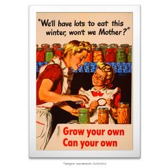 Poster Grow your own, can your own - comprar online