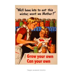 Poster Grow your own, can your own - QueroPosters.com