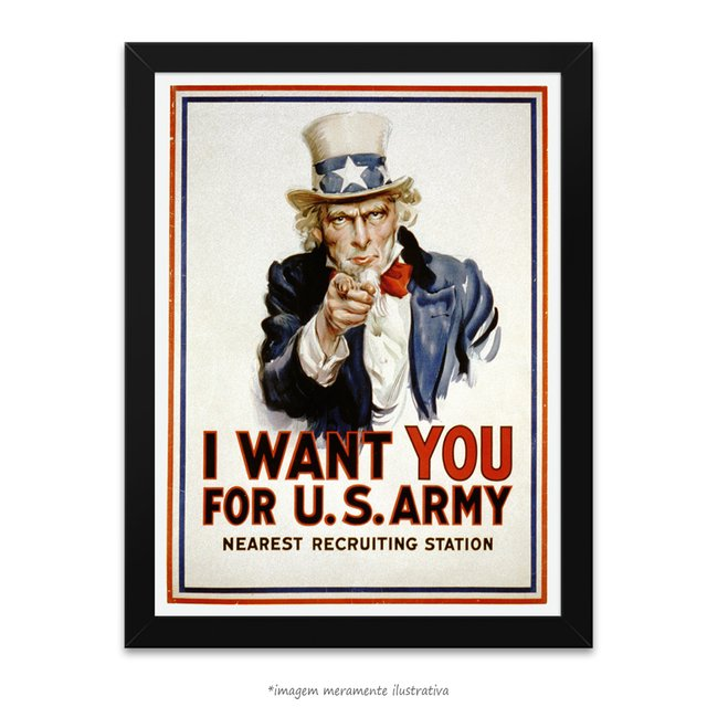 Poster I Want You