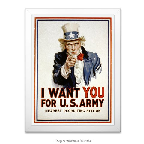 Poster I Want You - comprar online