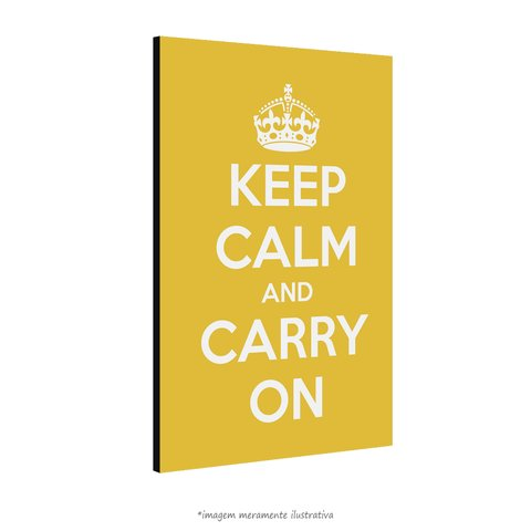 Poster Keep Calm and Carry On - Lima na internet
