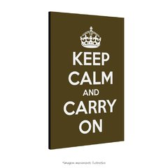 Poster Keep Calm and Carry On - Musgo na internet